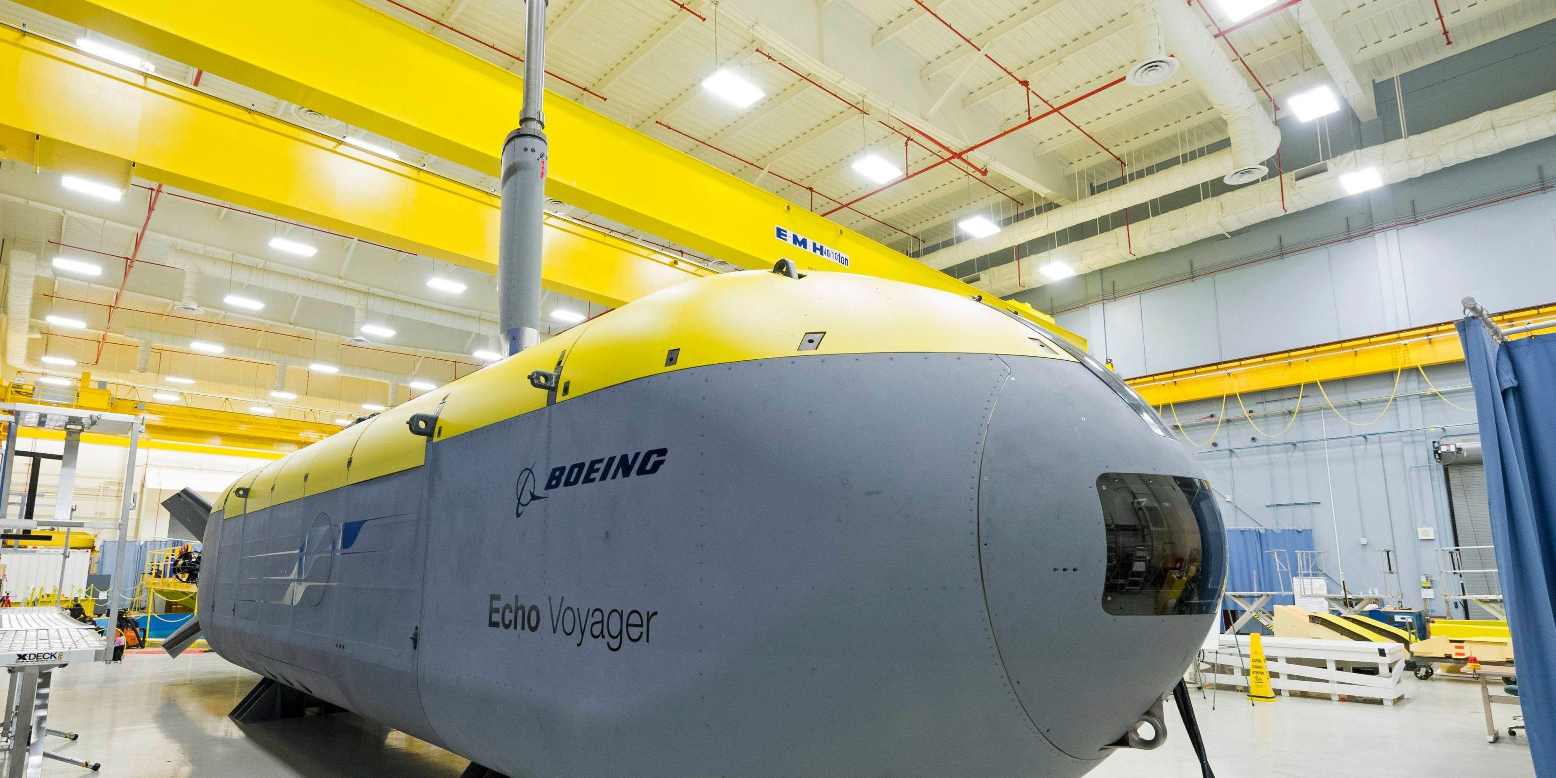 Boeing Has a Beast of a Submarine Ready to Autonomously Patrol the Ocean