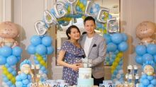 Myolie Wu is having a baby boy!