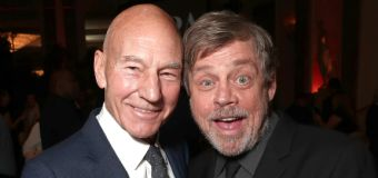 Mark Hamill and Patrick Stewart face off in new ad