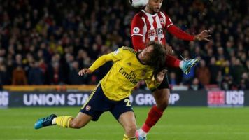 Foot - ANG - Angleterre : Victime de Lys Mousset, Arsenal rate le podium à Sheffield United