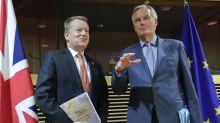 'Intensified' Brexit trade talks get under way in Brussels