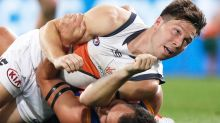 GWS Giants' Toby Greene slapped with ban over 'disgraceful' act