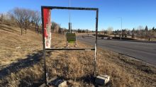 2 byelection campaign signs set on fire in southeast Calgary