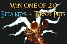 Win beta keys and Tyraels from Wowhead