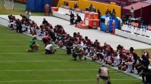 NFL teams kneel or stay in locker room for anthems on opening Sunday