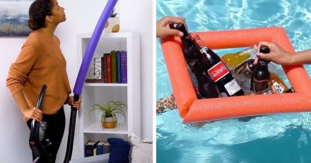 Pool Noodle Hacks That Will Completely Floor You
