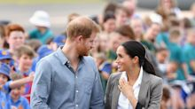 Meghan Markle Rocks a Rare Ponytail in Dubbo While Wearing Blazer by BFF Serena Williams