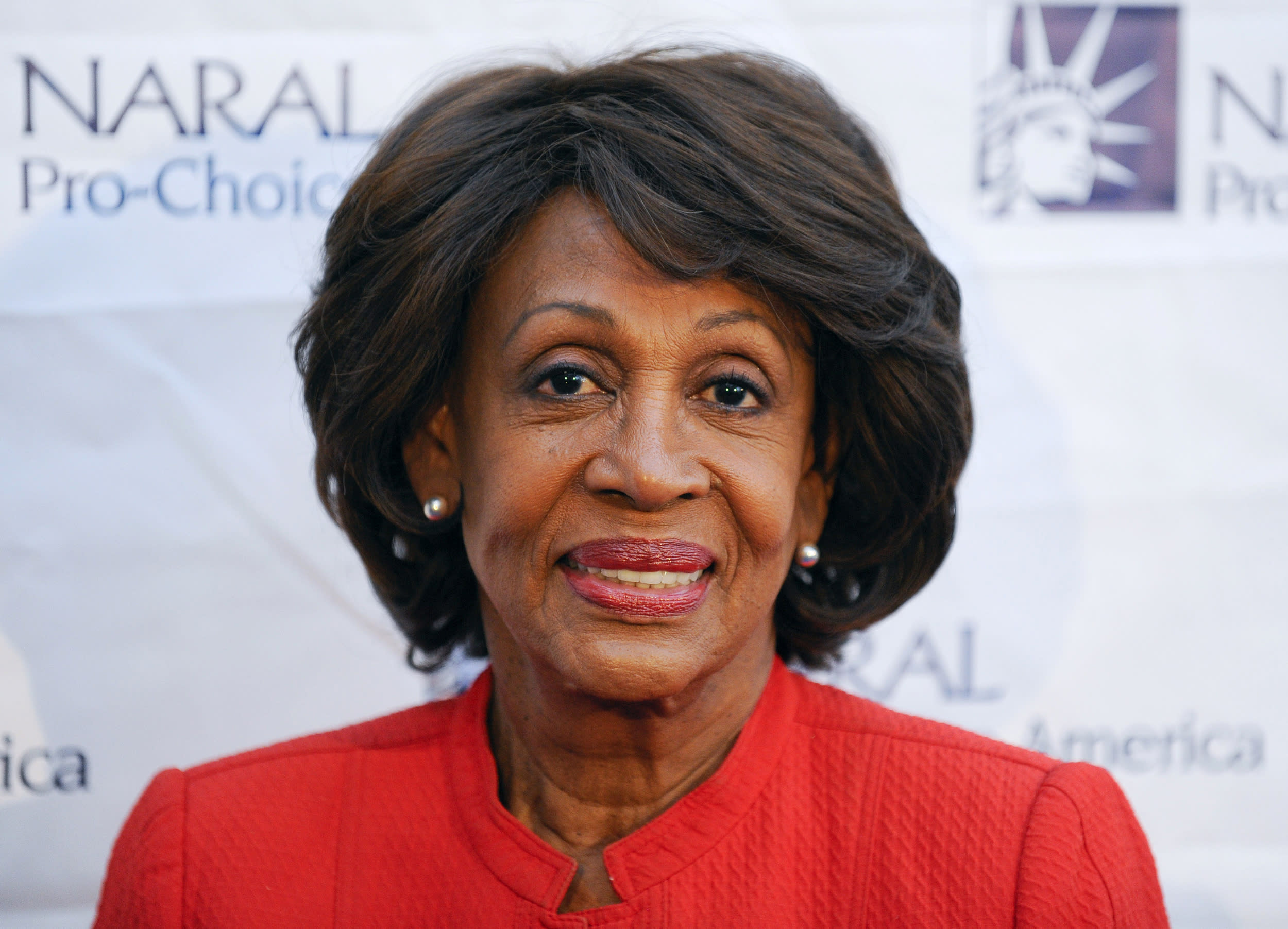 Congresswoman Maxine Waters arrives at the National Abortion and Reproductive Rights Action League Pro-Choice America's 2012 Los Angeles Power of Choice Reception in West Hollywood, California May 24, 2012. REUTERS/Gus Ruelas (UNITED STATES - Tags: ENTERTAINMENT POLITICS SOCIETY)