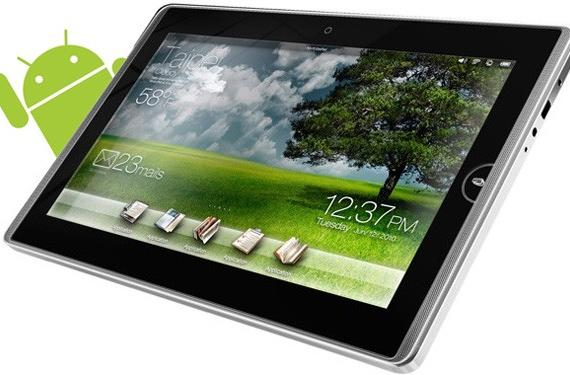 ASUS Eee Pad EP101TC opts for Android, dumps Windows Embedded Compact 7