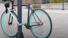 This bike's integrated lock makes it the safest bike in the world