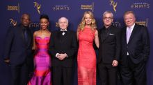 'Star Trek's William Shatner & Sonequa Martin-Green Accept Governors Award With Members From All Six Series – Emmys