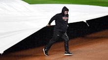 Yankees-Indians game delayed after MLB botches decision to start before rainstorm