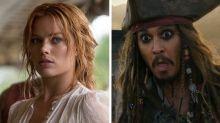 Johnny Depp continúa vistiéndose de Jack Sparrow, aunque lo reemplacen con Margot Robbie