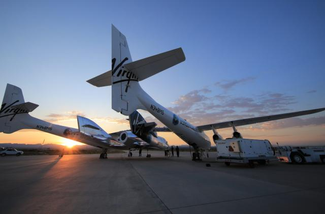 Virgin Galactic prepares for its first spaceflight from Spaceport America