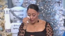 Tamera Mowry-Housley's emotional return to 'The Real' after niece killed in Thousand Oaks shooting