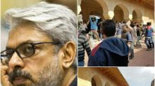 Protesters go berserk on the sets of Padmavati in Jaipur; Police intervenes on SLB's request
