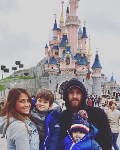 Messi Disney