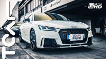 2017 Audi Driving Experience TT RS 跑車試駕 & Tom Kristensen、李勇德 賽道訪談 活動體驗 - TCAR