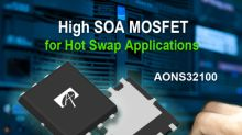 Alpha and Omega Semiconductor Introduces a High SOA MOSFET for Hot Swap Applications