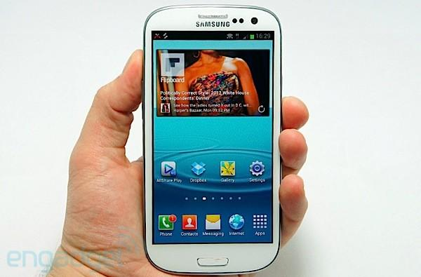 Samsung begins rolling out Android 4.3 update for Galaxy S III