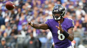 Lamar Jackson matches Colin Kaepernick record in Ravens win
