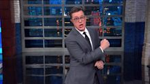 Stephen Colbert Gives Trump's 'Angry Mob' Its Perfect 2020 Rally Cry