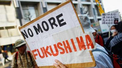 Raw: Fukushima Remembered at Japan Protest