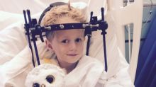 This child broke his neck on a trampoline -- but doctors didn't notice for five weeks