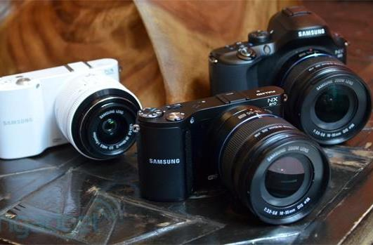 Samsung's NX20, NX210 and NX1000 mirrorless camera trio hands-on (video)