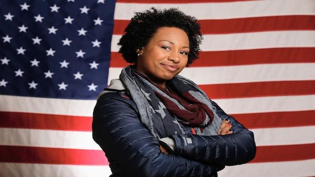 Jazmine Fenlator watched bobsledding videos on YouTube and knew she'd be an Olympian