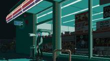 【今日GIF】超正日本景pixelart 便利店外透透氣