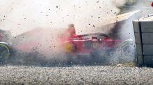 Formula One testing rocked by Sebastian Vettel's scary crash