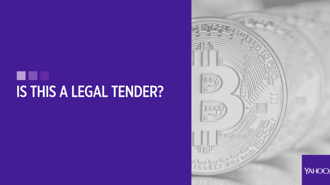 Is bitcoin a legal tender?