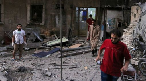 Two Aleppo Hospitals Attacked as Number of Injured Civilians Increases