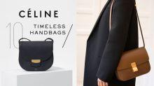 #POPBEE 專題: Céline 式簡約美學由她一手打造!盤點 Phoebe Philo 年代下 10 個 Céline 經典手袋