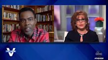 Chris Rock explains to 'The View' his recent learning disorder diagnosis: 'something very close' to Asperger's