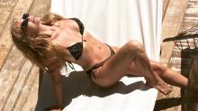 A los 65 años, Graciela Alfano posó con una bikini diminuta desde Mar del Plata