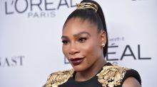 Serena Williams makes post-pregnancy red carpet comeback in Versace