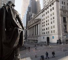 Stock market news live updates: Stocks pull back from record levels as investors await earnings