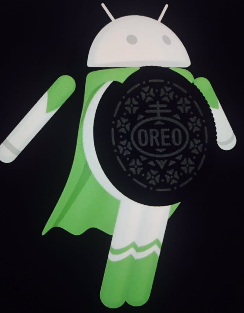 Android 8 heißt Android Oreo