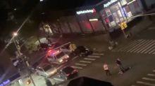 George Floyd: vídeos mostram policial sendo espancado e outro sendo atropelado durante protestos em NY