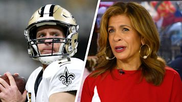 Brees' $5M gift brings 'Today' host to tears