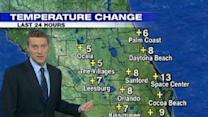 Another Chilly Night, Then Warmer Temps