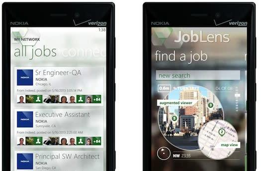 Nokia brings Augmented Reality to the employment market with JobLens