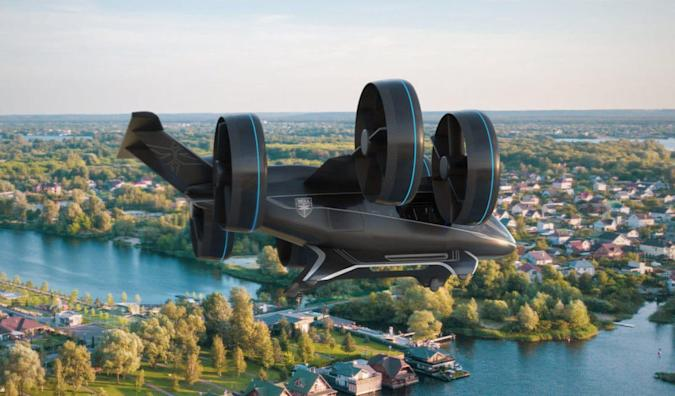 Bell (one of Uber's flying taxi partners)