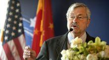 U.S. ambassador to China Branstad to retire next month
