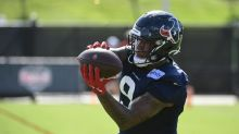 WATCH: Texans rookie TE Brevin Jordan showcases catching ability