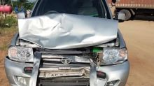 Chandrababu Naidu escapes unhurt after his convoy meets with accident in Telangana
