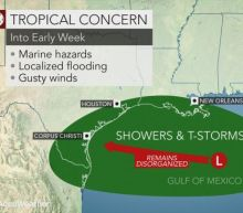 Might a tropical depression form in the Gulf of Mexico?