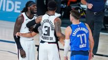 "Montrezl Harrell apologizes for calling Luka Doncic ""b****-a** white boy"""